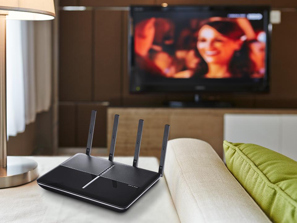 TP-Link Archer VR2600. Il Modem wifi più veloce sul mercato. Compatibile con tutte le linee ADSL e Fibra Ottica disponibili in Italia.