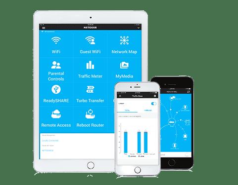 Netgear Genie è la app compatibile con il modem router D7000-100PES